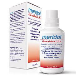 MERIDOL CLOREXIDINA 0,2% COLLUTORIO 300