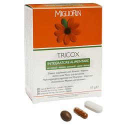 MIGLIORIN TRICOX 20 TAVOLETTE + 20 GELLLULE + 20 CAPSULE