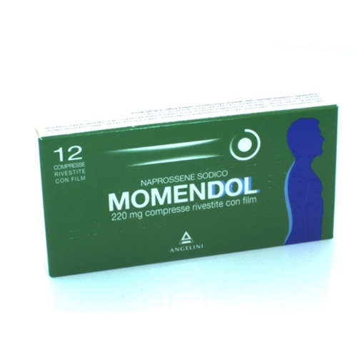 MOMENDOL 12 COMPRESSE 220 MG