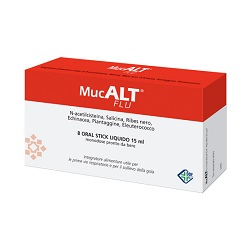 MUCALT FLU 8 ORAL STICK MONODOSE