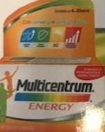 MULTICENTRUM ENERGY 60 COMPRESSE