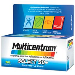 MULTICENTRUM SELECT50+ 90 COMPRESSE