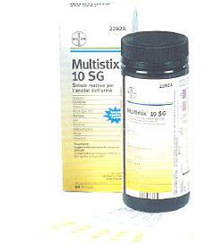 MULTISTIX 10SG 25 STRISCE TEST URINA