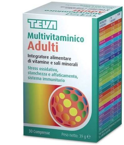 MULTIVITAMINICO ADULTI 30 COMPRESSE