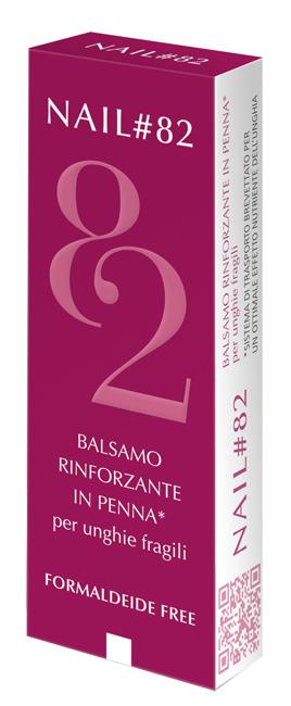 NAIL 82 BALSAMO RINFORZANTE UNGHIE FRAGILI 4ML
