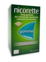 NICORETTE 105 GOMME 2 MG GUSTO CLASSICO