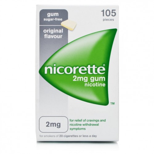 NICORETTE 105 GOMME 2 MG