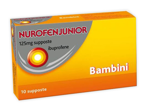 NUROFEN JUNIOR 10 SUPPOSTE  125MG