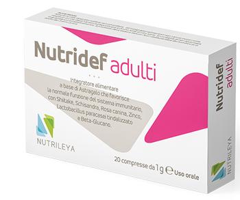 NUTRIDEF ADULTI 20 COMPRESSE
