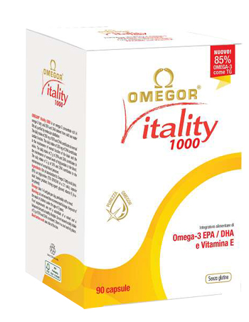 OMEGOR VITALITY 1000 90 CAPSULE