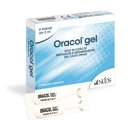 ORACOL GEL 6 FIALETTE 3ML
