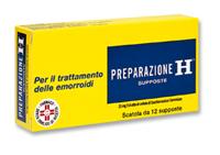 PREPARAZIONE H 12 SUPPOSTE