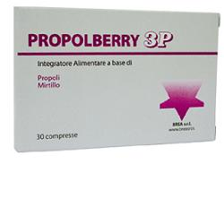 PROPOLBERRY 30 COMPRESSE
