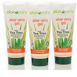 PURO GEL ALOE VERA TEA TREE