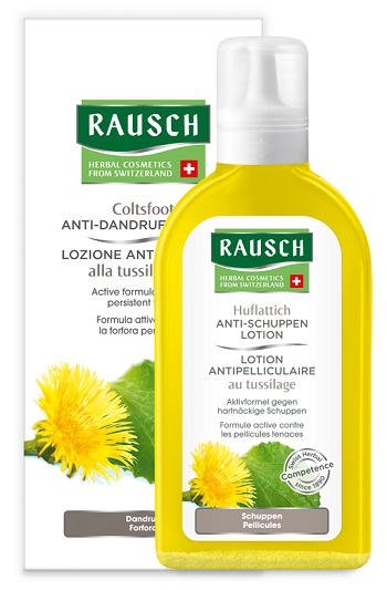 RAUSCH LOZIONE ANTI FORFORA TUSSILLAGINE 200 ML