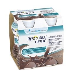 RESOURCE HP-HC CACAO 4 FLACONCINI DA 200ML