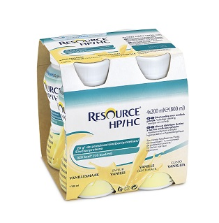 RESOURCE HP-HC VANIGLIA 4 FLACONCINI DA 200ML