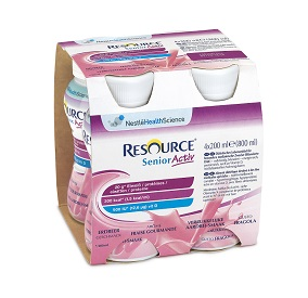 RESOURCE SENIOR ACTIVE FRAGOLA 4 X 200ML