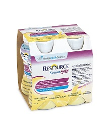 RESOURCE SENIOR ACTIVE VANIGLIA 4 X 200ML