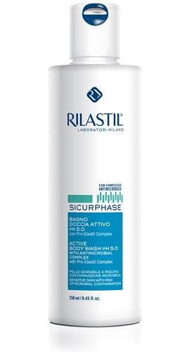 RILASTIL SICURPHASE BAGNO DOCCIA ATTIVO PH5 DETERGENTE 250 ML