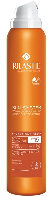 RILASTIL SUN SYSTEM SPRAY TRASPARENTE SPF 15