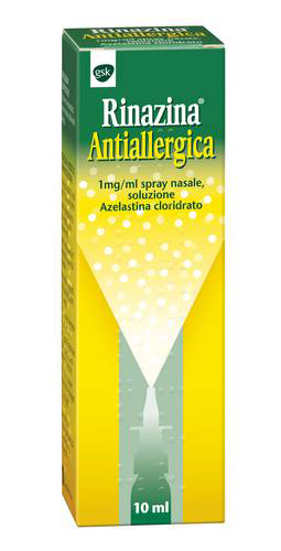 RINAZINA ANTIALLERGICA SPRAY NASALE