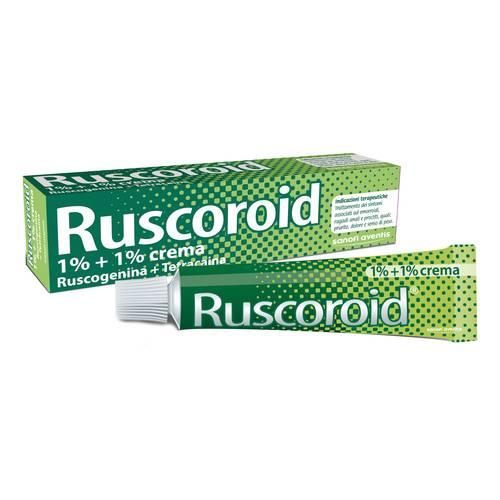 RUSCOROID CREMA RETTALE 40 GRAMMI