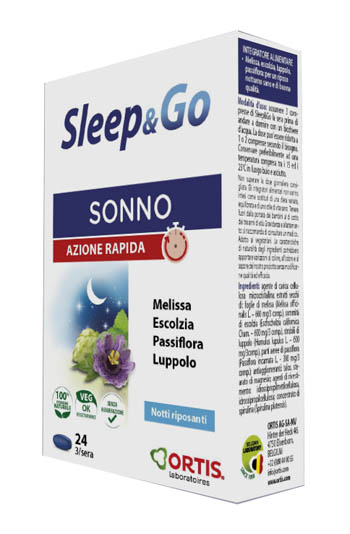 SLEEP & GO 24 COMPRESSE