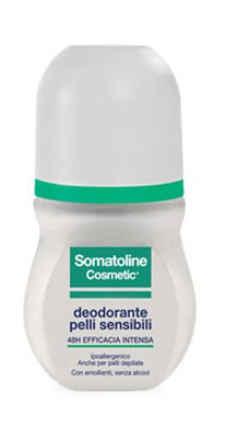 SOMATOLINE COSMETIC DEODORANTE PELLI SENSIBILI ROLL ON 50ML