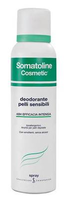SOMATOLINE COSMETIC DEODORANTE PELLI SENSIBILI SPRAY 150ML