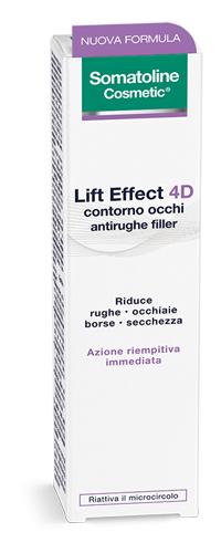 SOMATOLINE LIFT EFFECT 4D CONTORNO OCCHI ANTIRUGHE FILLER 15ML