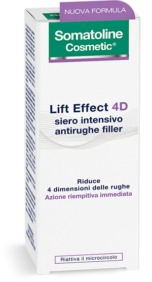SOMATOLINE LIFT EFFECT 4D SIERO INTENSIVO ANTIRUGHE FILLER 30ML