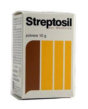 STREPTOSIL POLVERE 10 GRAMMI