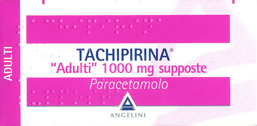 TACHIPIRINA SUPPOSTE ADULTI 1000 MG