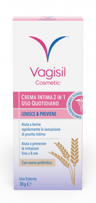 VAGISIL CREMA INTIMA 2 IN 1 USO QUOTIDIANO 30G