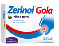 ZERINOL GOLA RIBES 18 PASTIGLIE