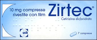ZIRTEC 7COMPRESSE 10 MG