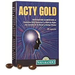 ACTY GOLD 30CPS