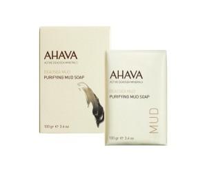 AHAVA DEADSEA MUD PURIFYING MUD SOAP 100g