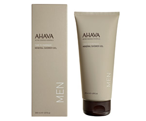 AHAVA TIME TO ENERGIZE MINERAL SHOWER GEL 200ML