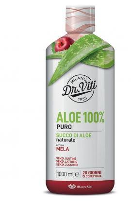 ALOE 100% PURO AROMA MELA 1L