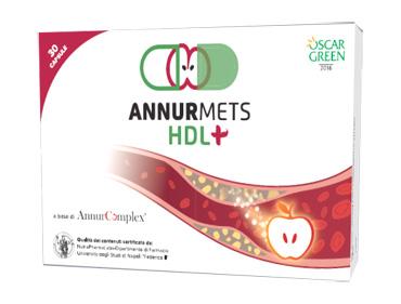 ANNURMETS HDL+ 30 CAPSULE
