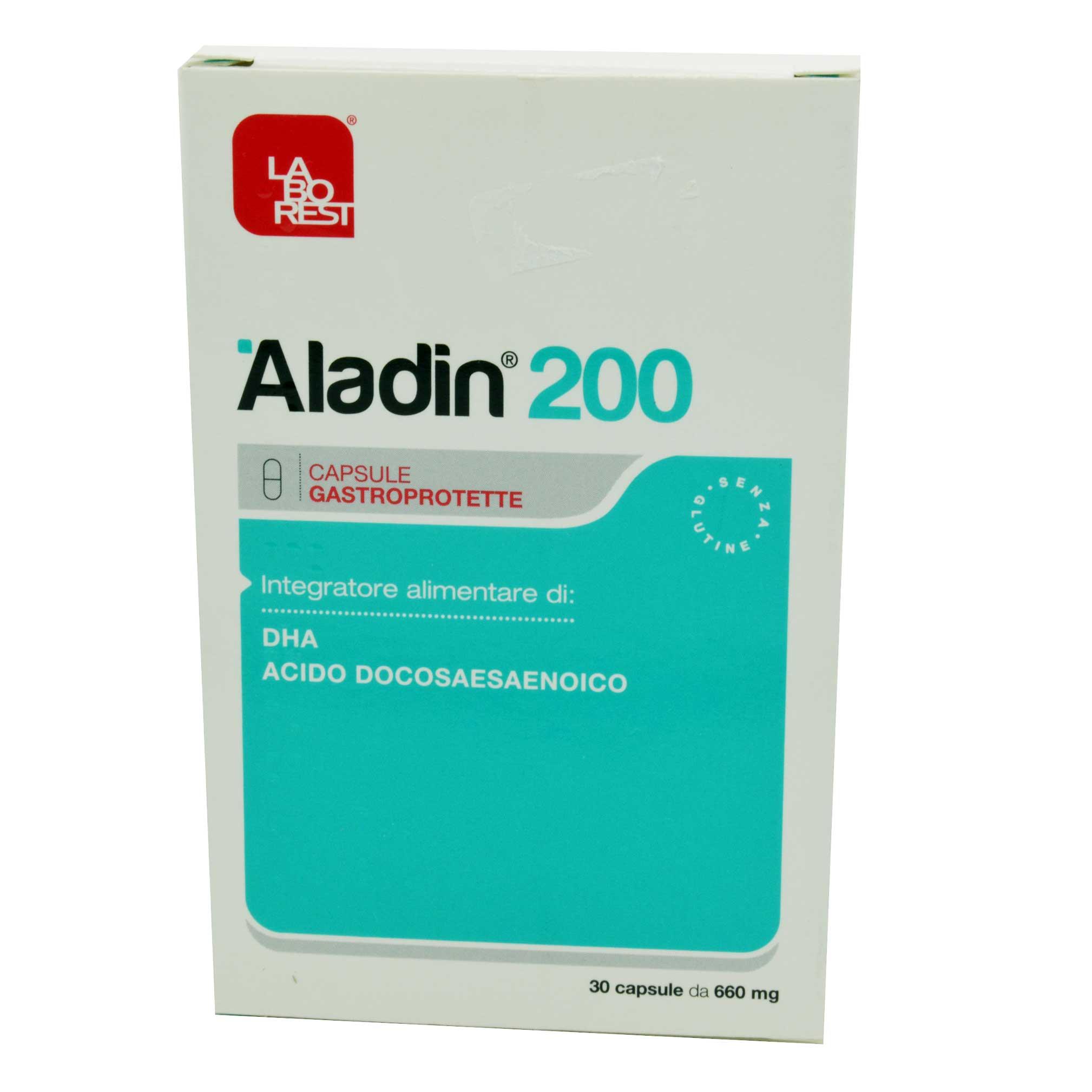 Aladin 200 DHA CAPSULE GASTROPROTETTE