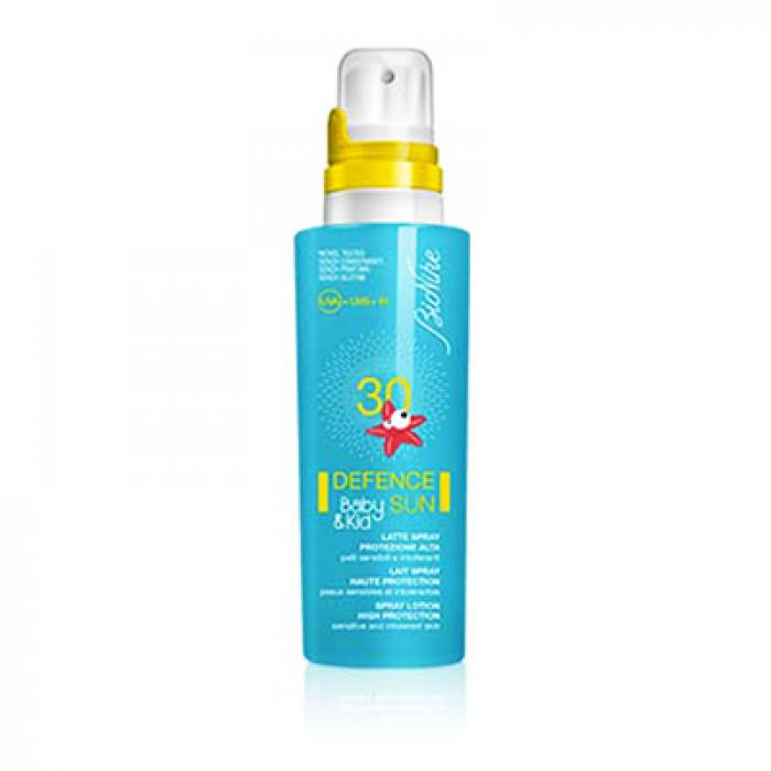 BIONIKE DEFENCE SUN BABY&KID LATTE SPRAY 30 125 ML