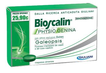 BIOOSCALIN PHYSIOGENINA 30 COMPRESSE