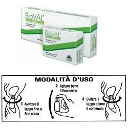 BIOVAL PLUS 8FLACONCINI 10ML