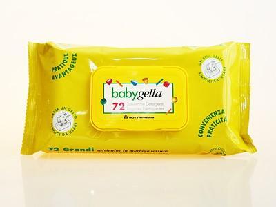 Babygella salviettine 72pz 3 CONFEZIONI