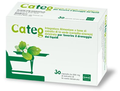CATEG ESTRATTO THE VERDE 30 CAPSULE