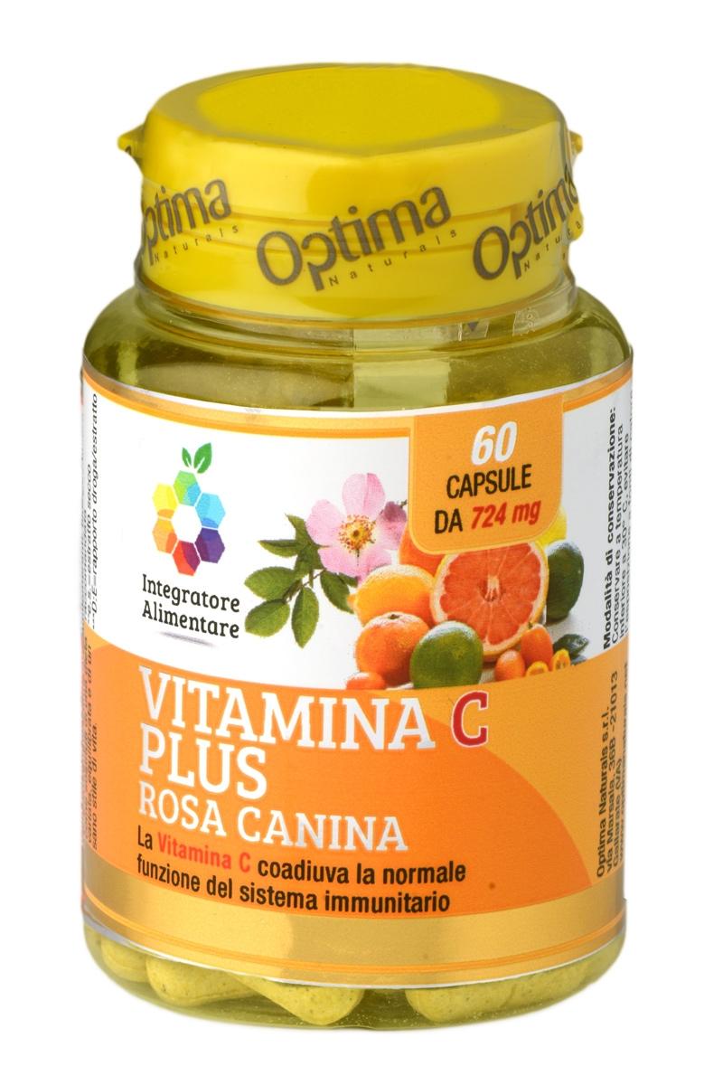 COLOURS OF LIFE VITAMINA C PLUS ROSA CANINA 60 CAPSULE