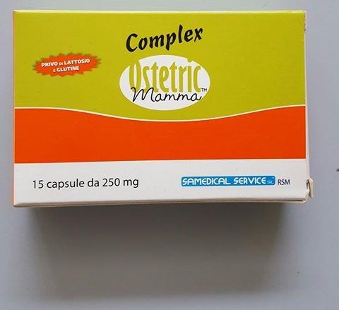 COMPLEX OSTETRIC MAMMA 15 CAPSULE